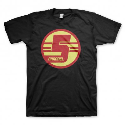 Channel 5 Tee (Black)