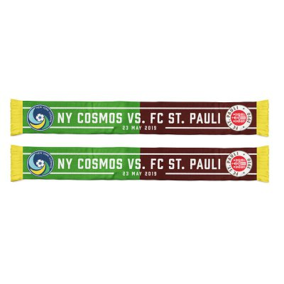 fc-st-pauli - FC St. Pauli vs. NY Cosmos 2019 Scarf