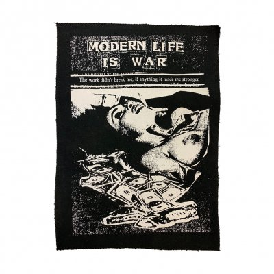 modern-life-is-war - The Work Didn't Break Me Back Patch