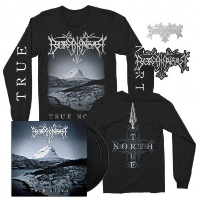 borknagar - Album LS + 2xLP + Pin + Die Cut Patch