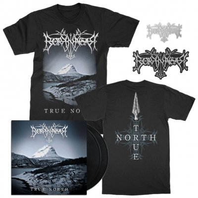 borknagar - Album T-Shirt + 2xLP + Pin + Die Cut Patch