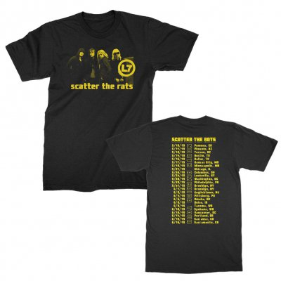l7 - Scatter the Rats Photo Tour Tee (Black)