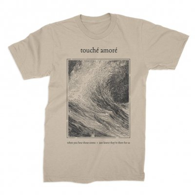 touche-amore - Always Running Tee (Tan)
