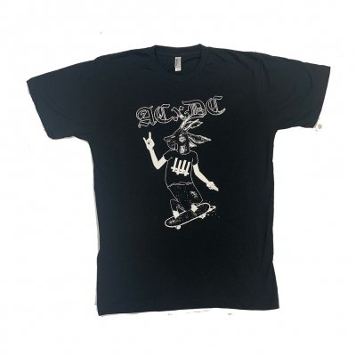 acxdc - Skating Goat Tee (Black)