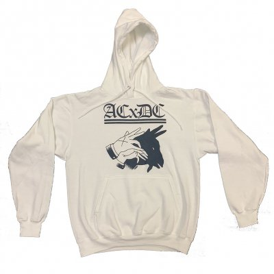 acxdc - Shadow Hand Hoodie (White)