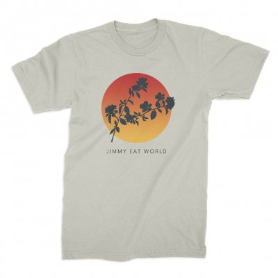 jimmy-eat-world - Silhouette T-Shirt (Natural)