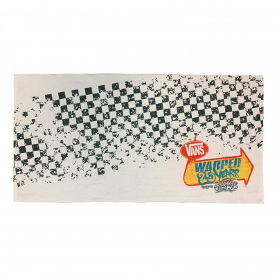 vans-warped-tour - 25 Years Towel (White)