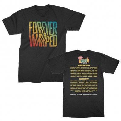 vans-warped-tour - 2019 Forever Warped Mountain View Tour Tee (Black)