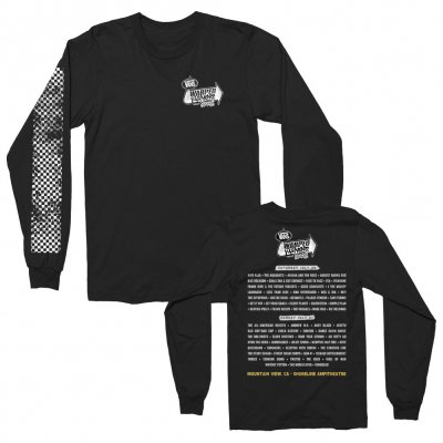 vans-warped-tour - 2019 Logo Mountain View Longsleeve (Black)