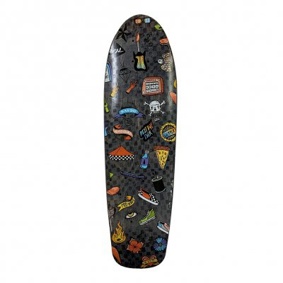 vans-warped-tour - Mini Skateboard