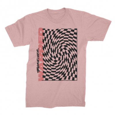 vans-warped-tour - 2019 Forever Warped Checkered Tee (Pink)