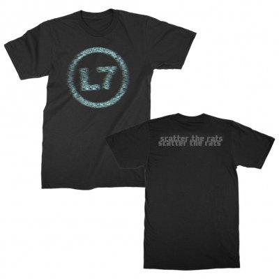 l7 - Fuzz Logo Tee (Black)