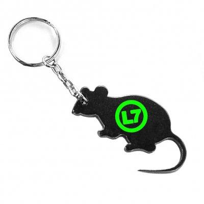 l7 - Rat Keychain