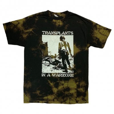 the-transplants - Soldier Tee (Bleach Dye)