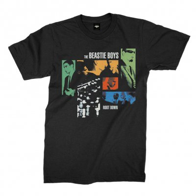 beastie-boys - Root Down Tee (Black)