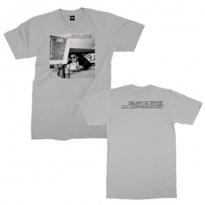 beastie-boys - Ill Communication Tee (Silver)