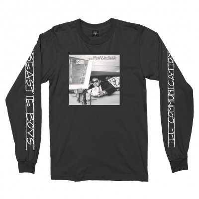beastie-boys - Ill Communication Long Sleeve Tee (Black)