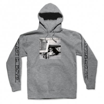 beastie-boys - Ill Communication Pullover Hoodie (Grey)