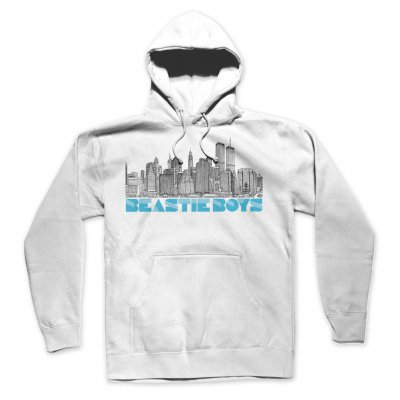 beastie-boys - To The 5 Boroughs Pullover Hoodie (White)