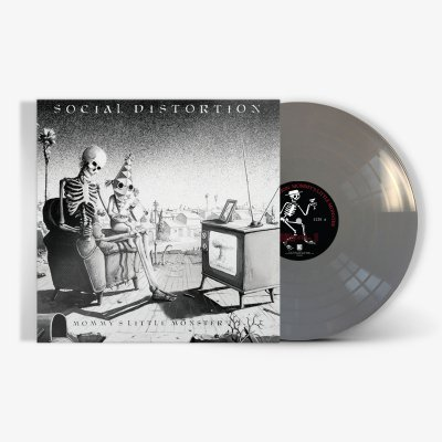social-distortion - Mommy's Little Monster LP (Metallic Silver)