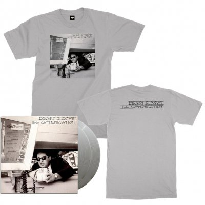 beastie-boys - Ill Communication 2xLP (180g Silver) + Tee Bundle