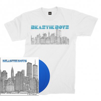 beastie-boys - To The 5 Boroughs 2xLP (180g Blue) + Tee Bundle