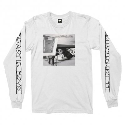 beastie-boys - Ill Communication Long Sleeve Tee (White)