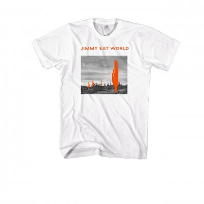 jimmy-eat-world - Saguaro Tee (White)