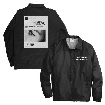Abysmal Thoughts Windbreaker (Black)
