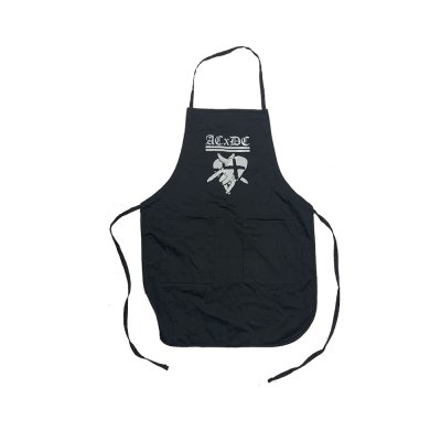 acxdc - Pentagram Hands Apron (Black)