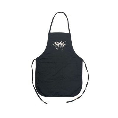 acxdc - Black Metal Logo Apron (Black)