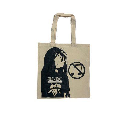 acxdc - Anime Tote Bag (Tan)