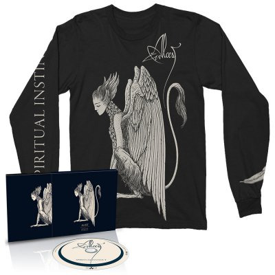 alcest - Spiritual Instinct CD + Long Sleeve (Black)