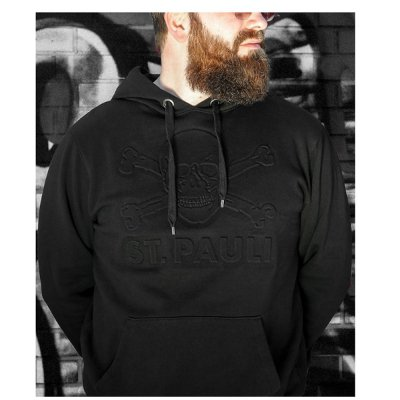 3D Embossed Pullover (Black)