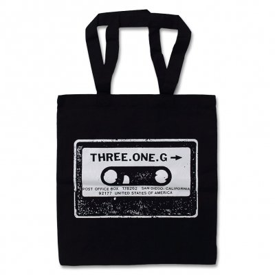 three-one-g - Tote Bag (Black)