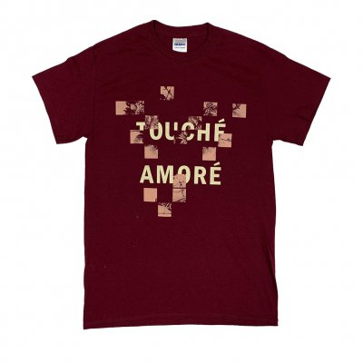 touche-amore - Boxes Tee (Maroon)