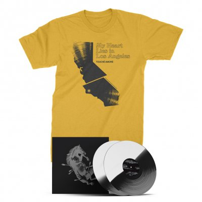 touche-amore - Dead Horse X Deluxe Vinyl Book (White/Black) + LA Tee (Ginger) Bundle