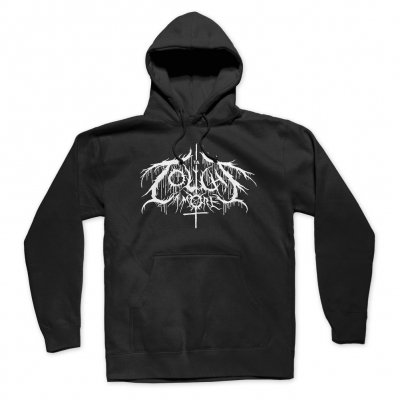 touche-amore - Metal Font Pullover Hoodie (Black)