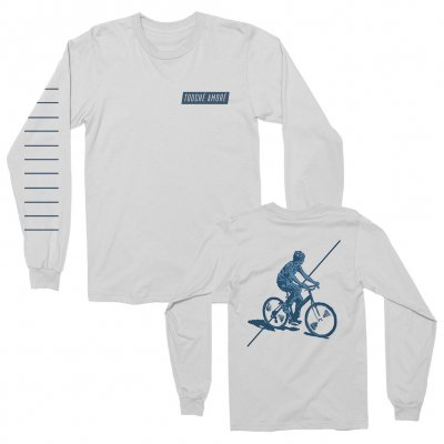 touche-amore - Bicycle Long Sleeve (White)