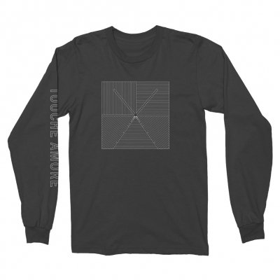 touche-amore - Lined Logo Long Sleeve (Black)