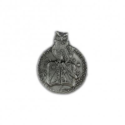 Owl Emblem Enamel Pin