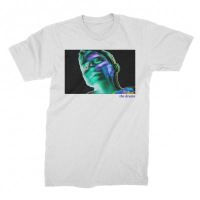 the-drums - The Drums Blurry Head Tee (White)