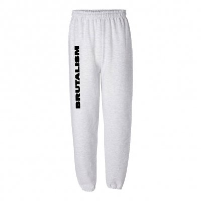 Brutalism Sweatpants (Gray)