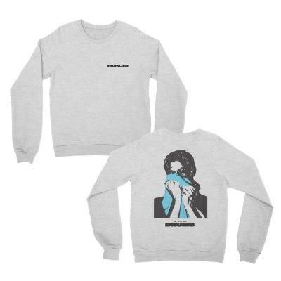 Brutalism Crewneck Sweatshirt (Gray)