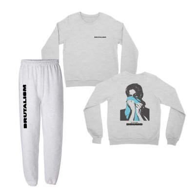 Brutalism Sweatpants & Sweatshirt Bundle