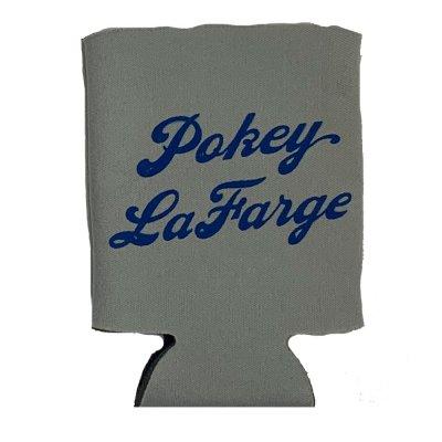 pokey-lafarge - Logo Coozie (Grey)