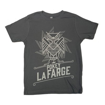 pokey-lafarge - Owl Women's Tee (Charcoal)