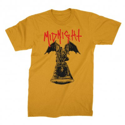 midnight - Gargoyle T-Shirt (Gold)