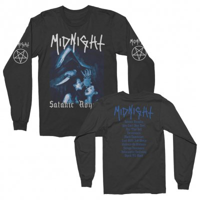 midnight - Satanic Royalty Long Sleeve (Black)