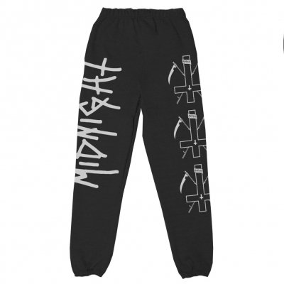 Midnight Cross Sweat Pants (Black)